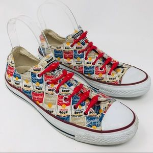 Converse x Andy Warhol Campbell's Soup Sneakers